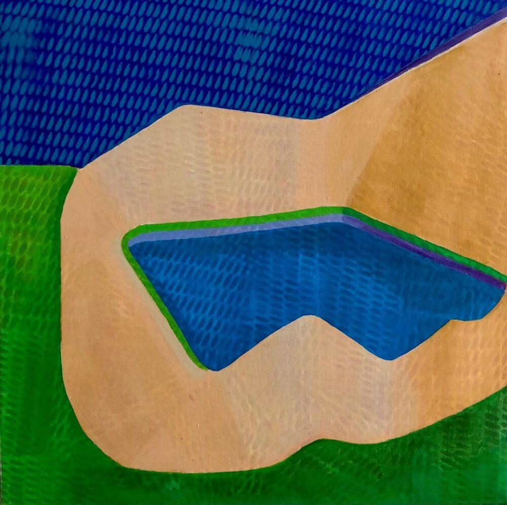 Jens Israel – Bungalow med Pool nr. 1