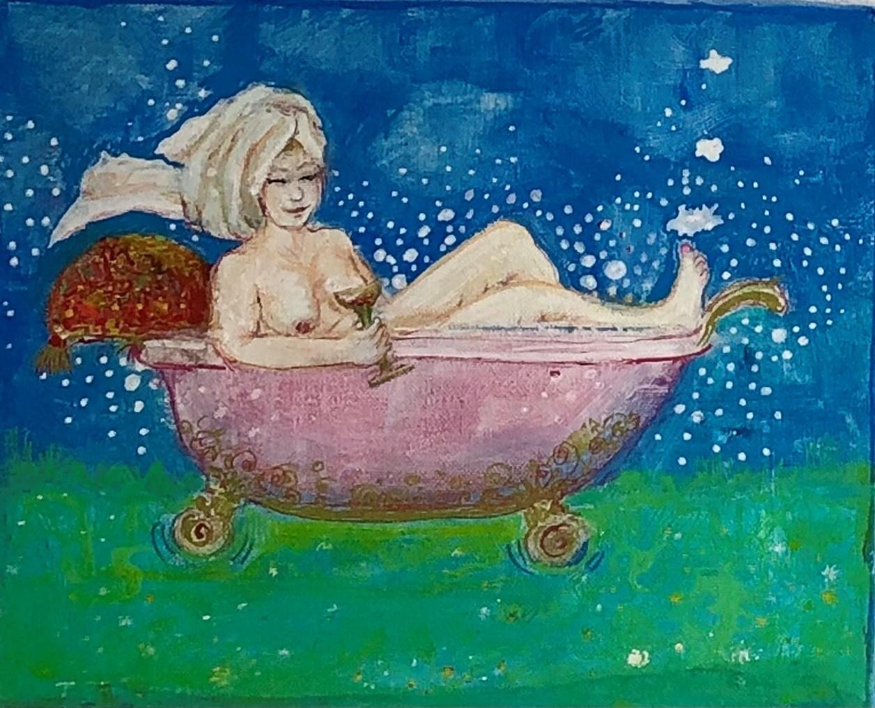 Tine Sunshine Rinds – Glade Badepiger, blågrøn
