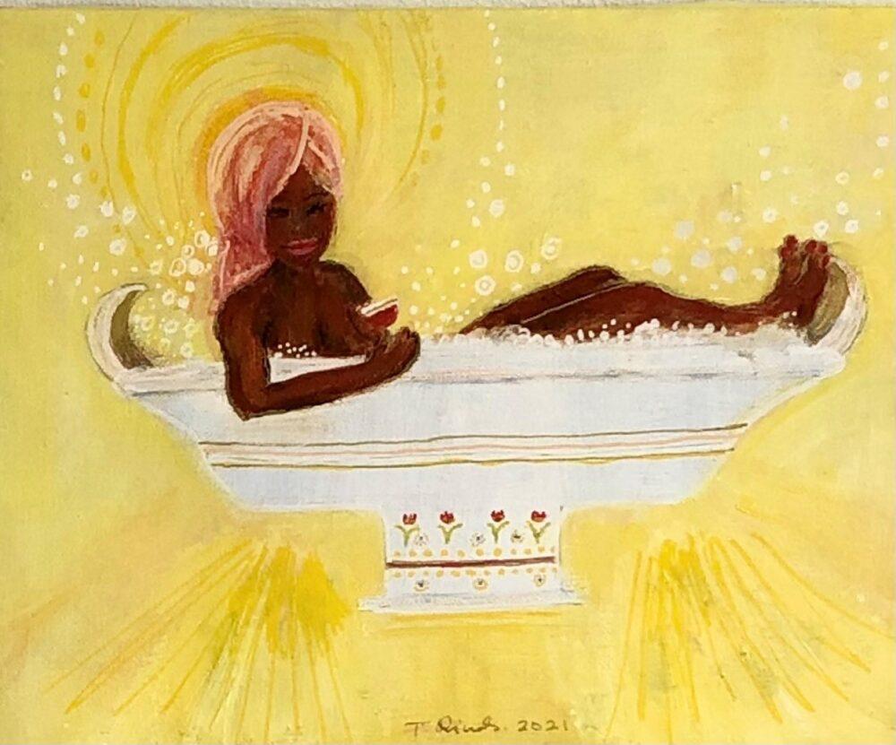 Tine Sunshine Rinds – Glade Badepiger, gul