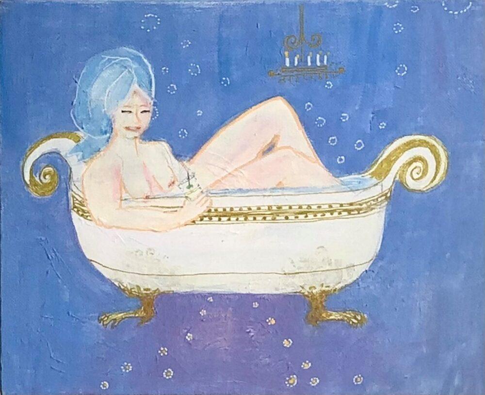 Tine Sunshine Rinds – Glade Badepiger, lyseblå