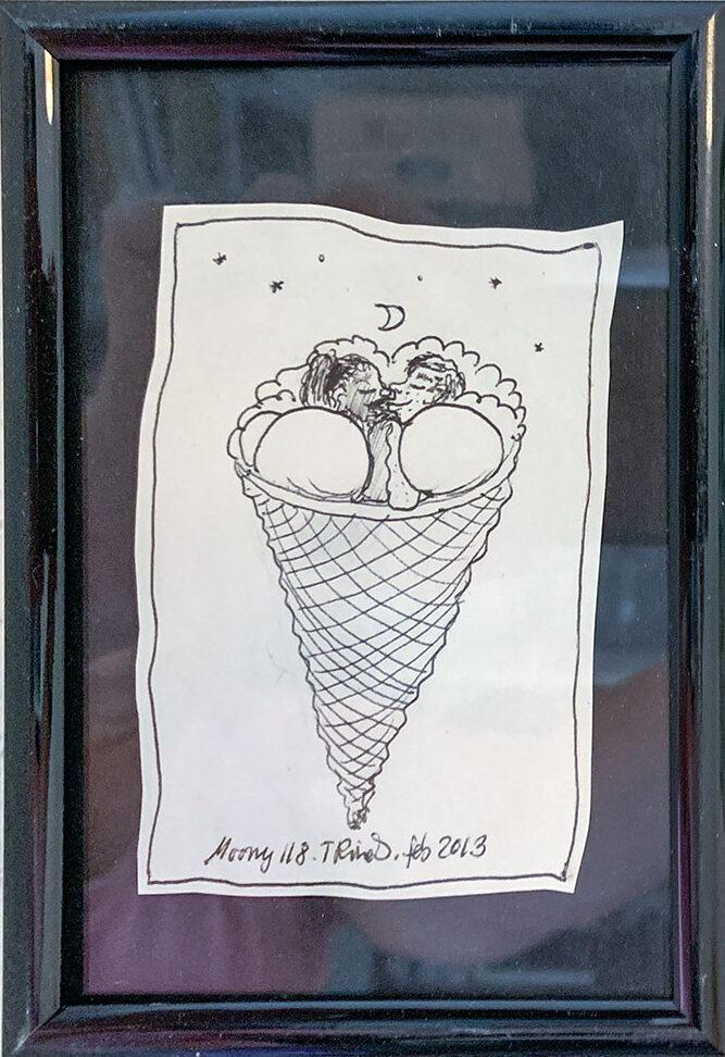 Moony tegninger (5) af Tine Rinds
